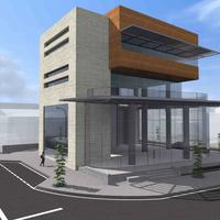 Business center in Republic of Cyprus, 1242 sq.m.